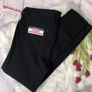 d jeans Black High Ultra Soft Skinny Jeans NWT- 12